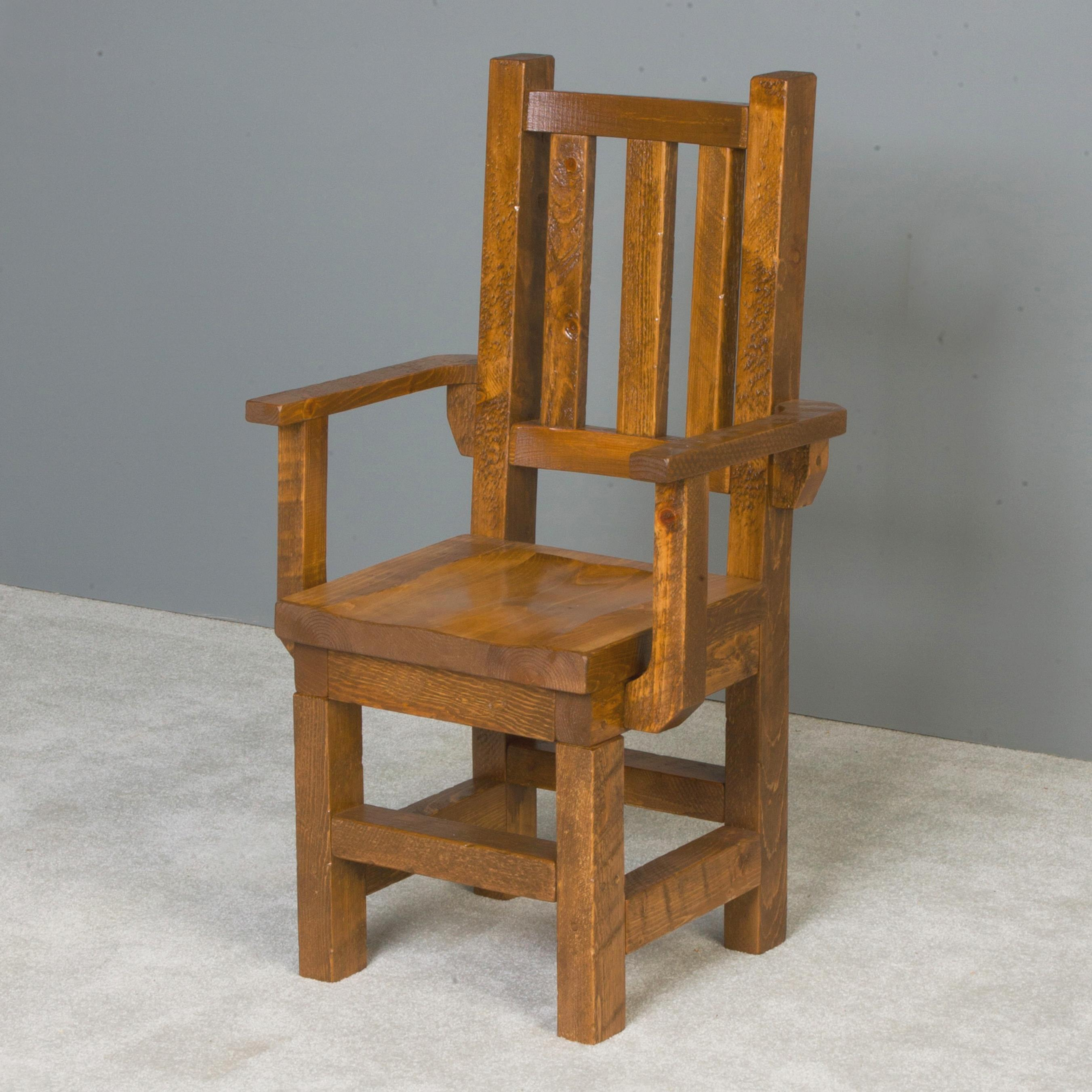 NorthShore by Becker Barnwood Trestle Arm Chair - Item Number: NBHVT93