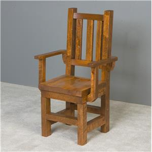 NorthShore by Becker Barnwood Trestle Arm Chair