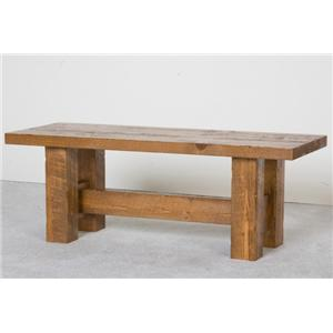 NorthShore by Becker Log Furniture Barnwood Bench