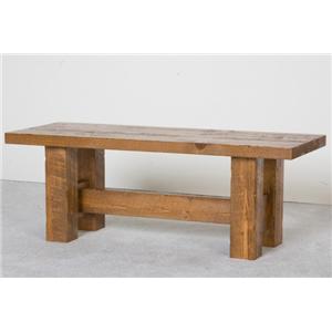 NorthShore by Becker Log Furniture Barnwood Bench