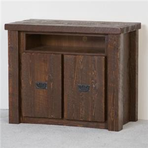NorthShore by Becker Log Furniture Barnwood TV Stand