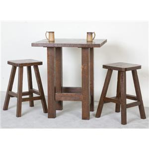 NorthShore by Becker Log Furniture Northwoods Pub and Stool Set