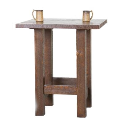 NorthShore by Becker Log Furniture Barnwood Pub Table - Item Number: NBWVPT