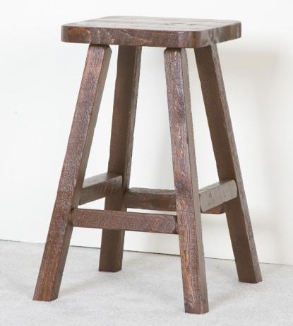 NorthShore by Becker Log Furniture Barnwood Pub Stool - Item Number: NBWVPT1