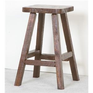 NorthShore by Becker Log Furniture Barnwood Pub Stool