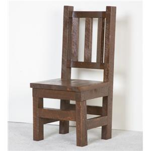 NorthShore by Becker Log Furniture Barnwood Dining Chair