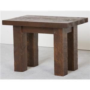 NorthShore by Becker Log Furniture Barnwood End Table