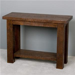 NorthShore by Becker Log Furniture Barnwood Sofa Table