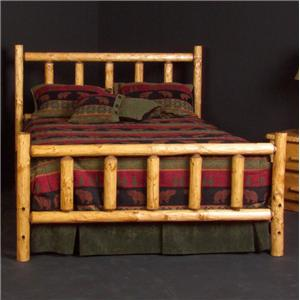 NorthShore by Becker Log Furniture Twin Alpine Log Bed