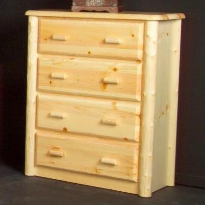 NorthShore by Becker Log Furniture Northwood Four Drawer Chest - Item Number: NW1CH4