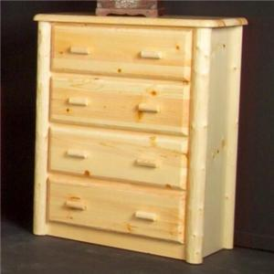 NorthShore by Becker Log Furniture Northwood Four Drawer Chest