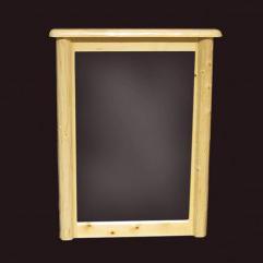 NorthShore by Becker Log Furniture Northwoods Dresser Mirror