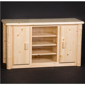 """NorthShore by Becker Log Furniture 52"""" TV Stand"""