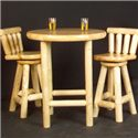 NorthShore by Becker Log Furniture Log Pub Table - Item Number: NWS KPT