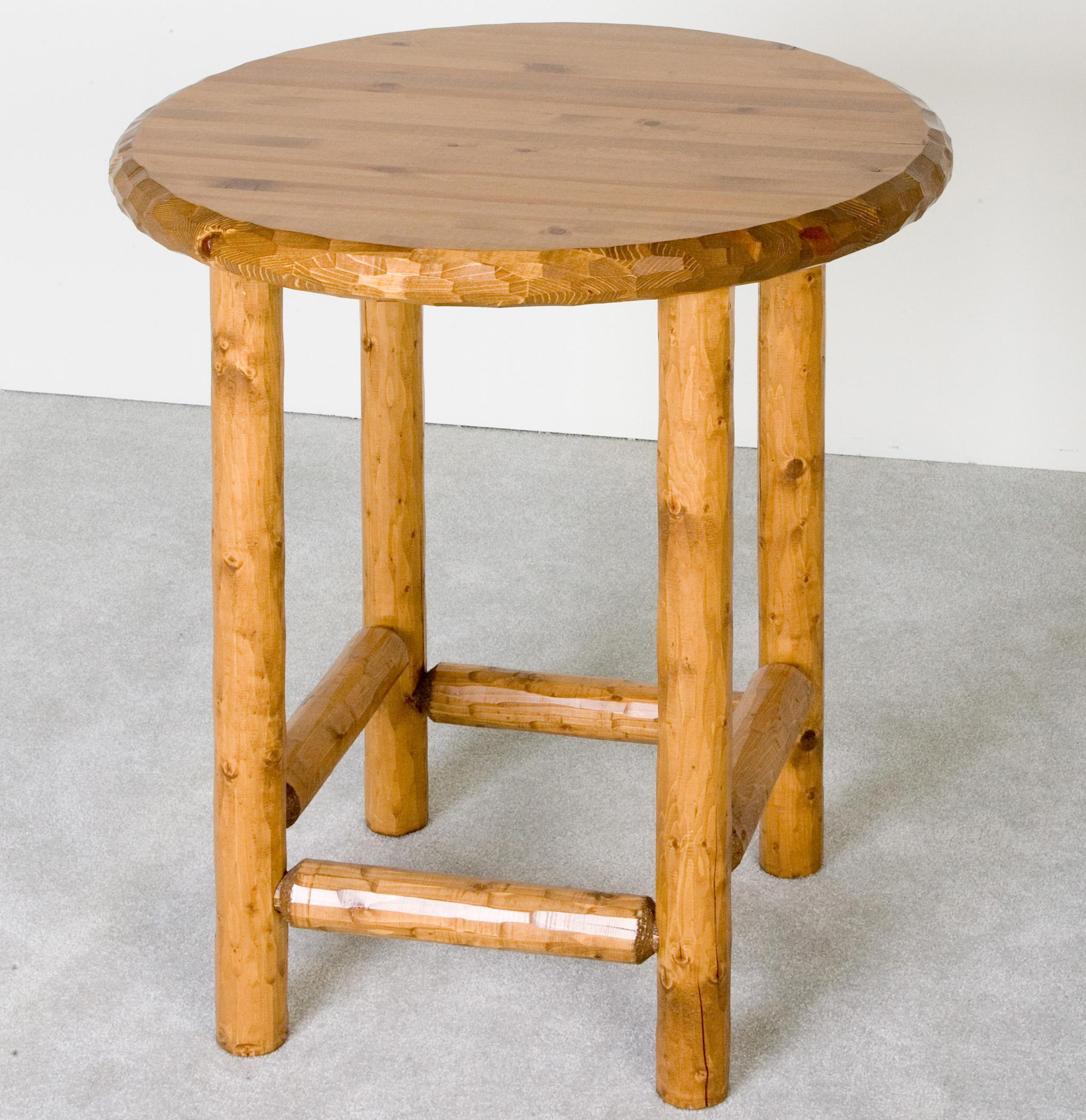 NorthShore by Becker Log Furniture Log Pub Table - Item Number: NWS NPT