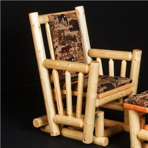 NorthShore by Becker Motion Log Glider Rocker