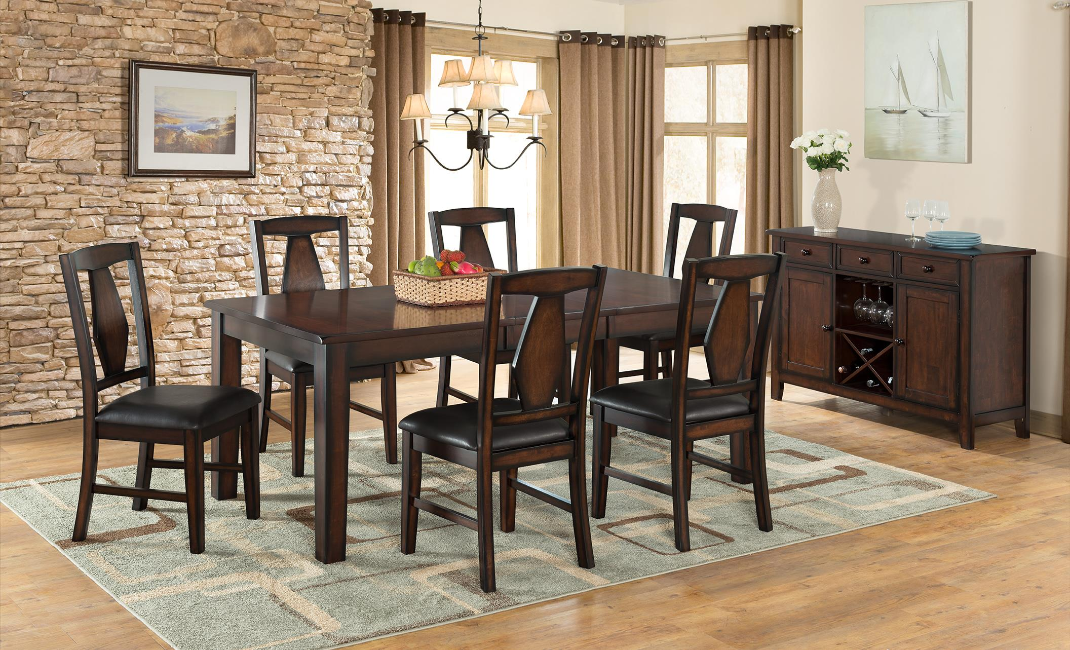 Vilo Home Tuscan Hills Dining Michael 39 S Furniture Warehouse Casual Dining Room Group