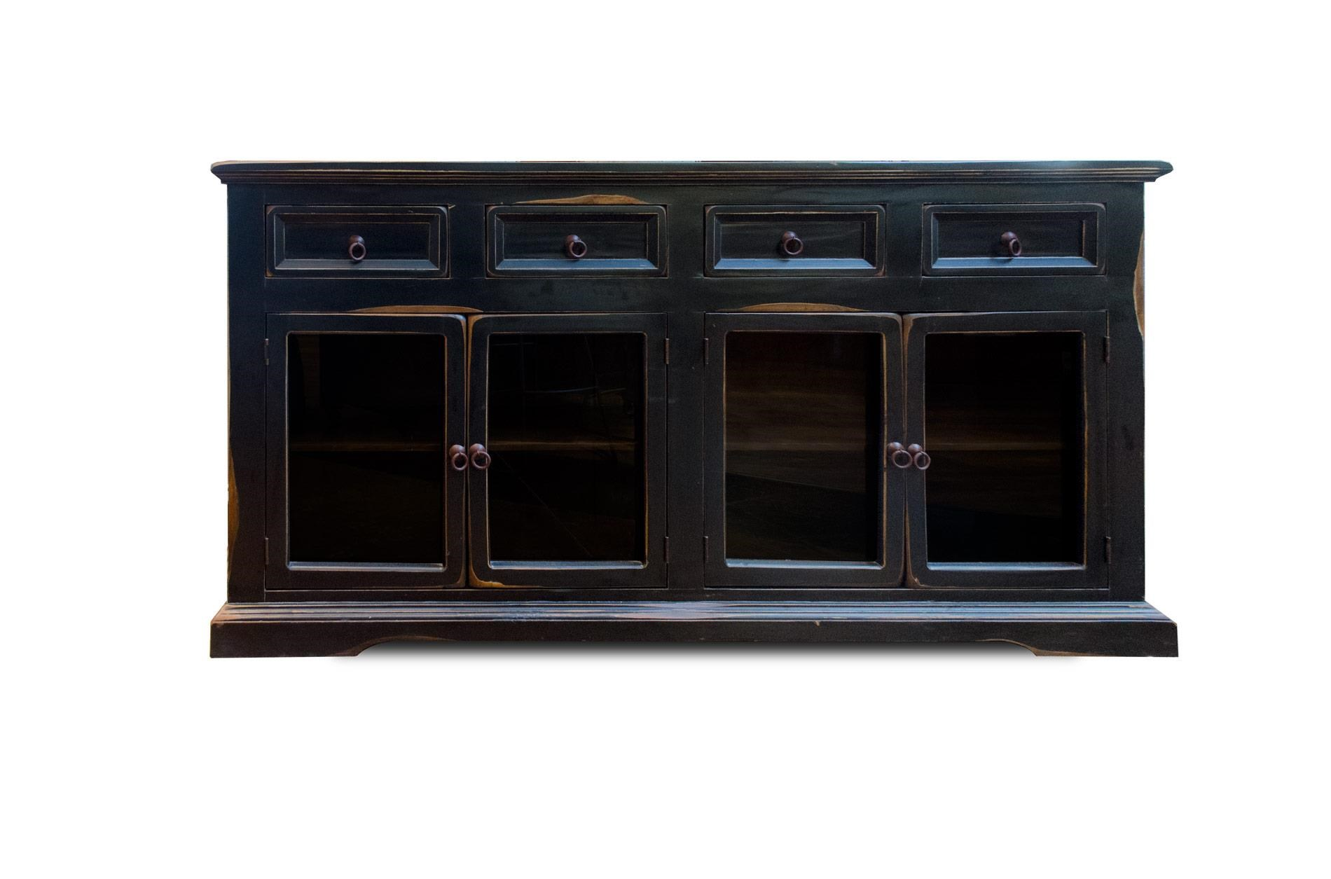 Vintage Accents Barcelona Black Console - Item Number: F-JON1022CON-NB