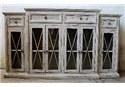 Vintage Accents Barcelona White Console - Item Number: F-JON1022CON-NW