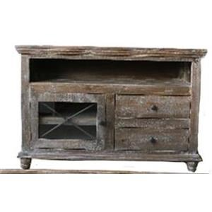 "Vintage Accents 52"" Barnwood Console"