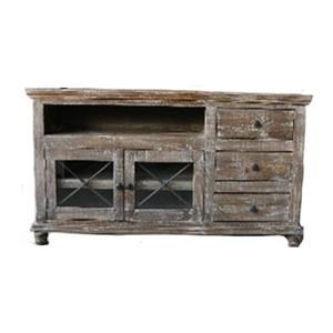 "Vintage Accents 63"" Barnwood Console"