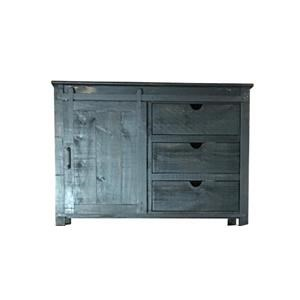 """Vintage Accents 50"""" Smoke Console"""