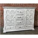 Vintage Chalet Dresser - Item Number: MIC3700-Dresser