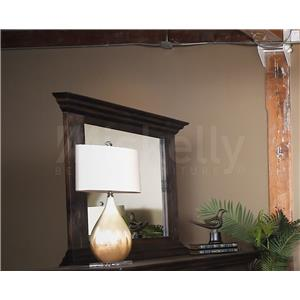 Vintage CLAUDIA- Dark Stain Mirror