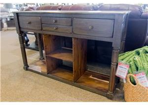 Console Table w/Drawers