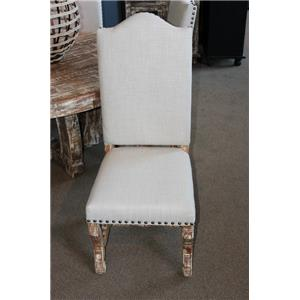 Vintage Dining Sets Dining Side Chair in Still White