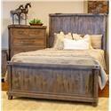 Vintage Industrial Bedroom Queen Panel Bed - Item Number: GRP-JONIND-QUEENBED