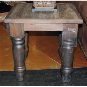 Vintage Great Wolf Dark Great Wolf End Table