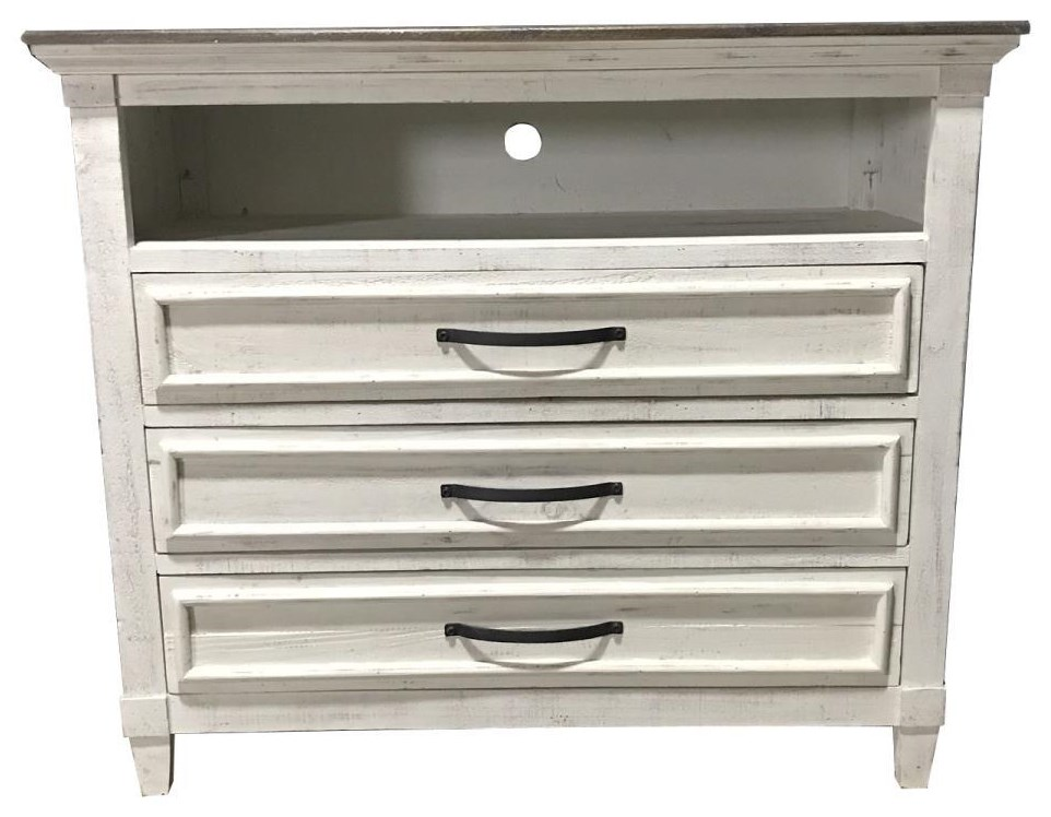 Two-Toned Media Chest