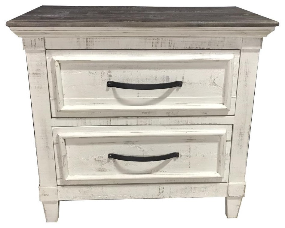 Two-Toned Nightstand
