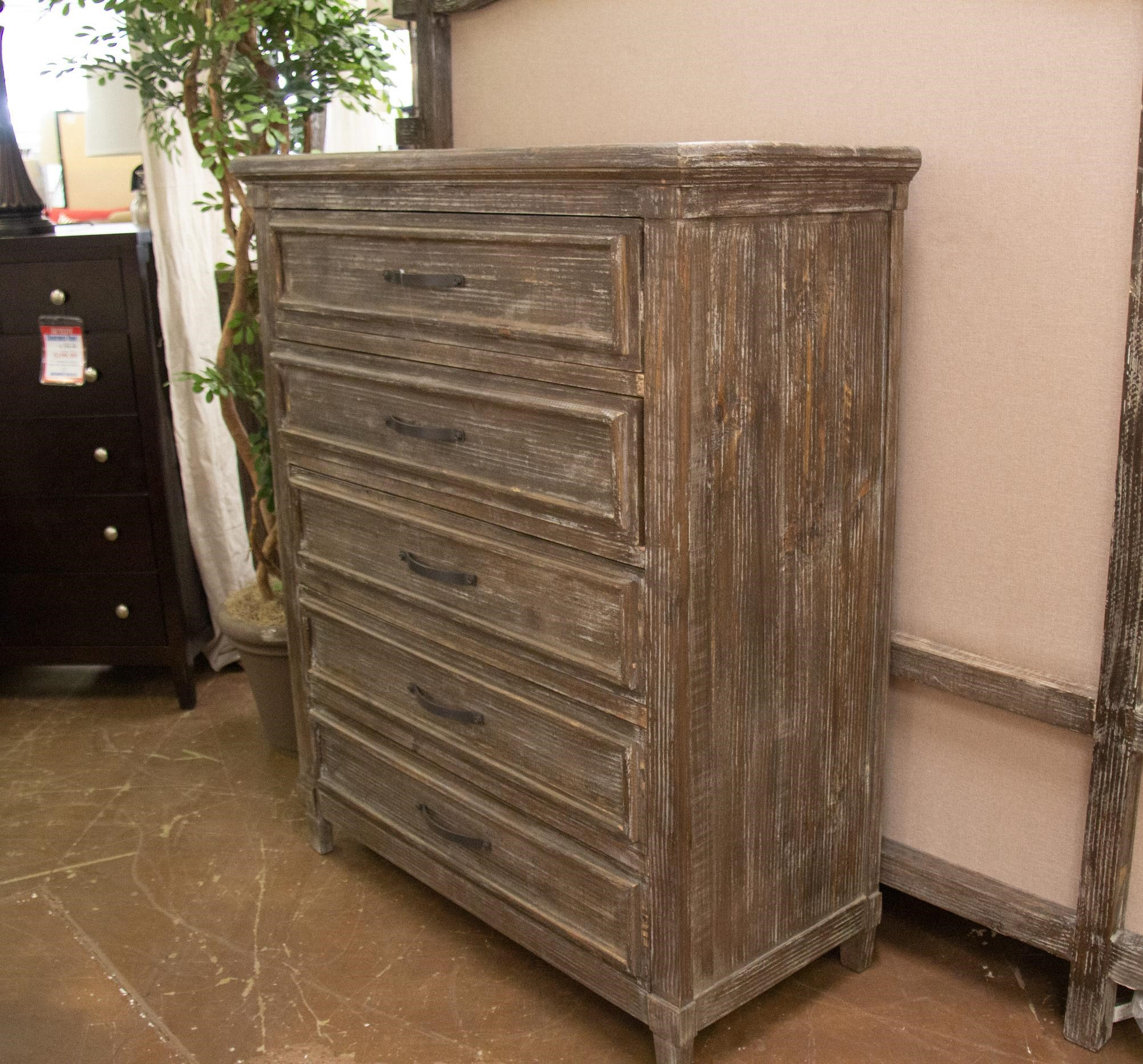 Barnwood Drawer Chest