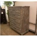 Vintage Austin Barnwood Drawer Chest - Item Number: JON-WILL-CH BARWOOD