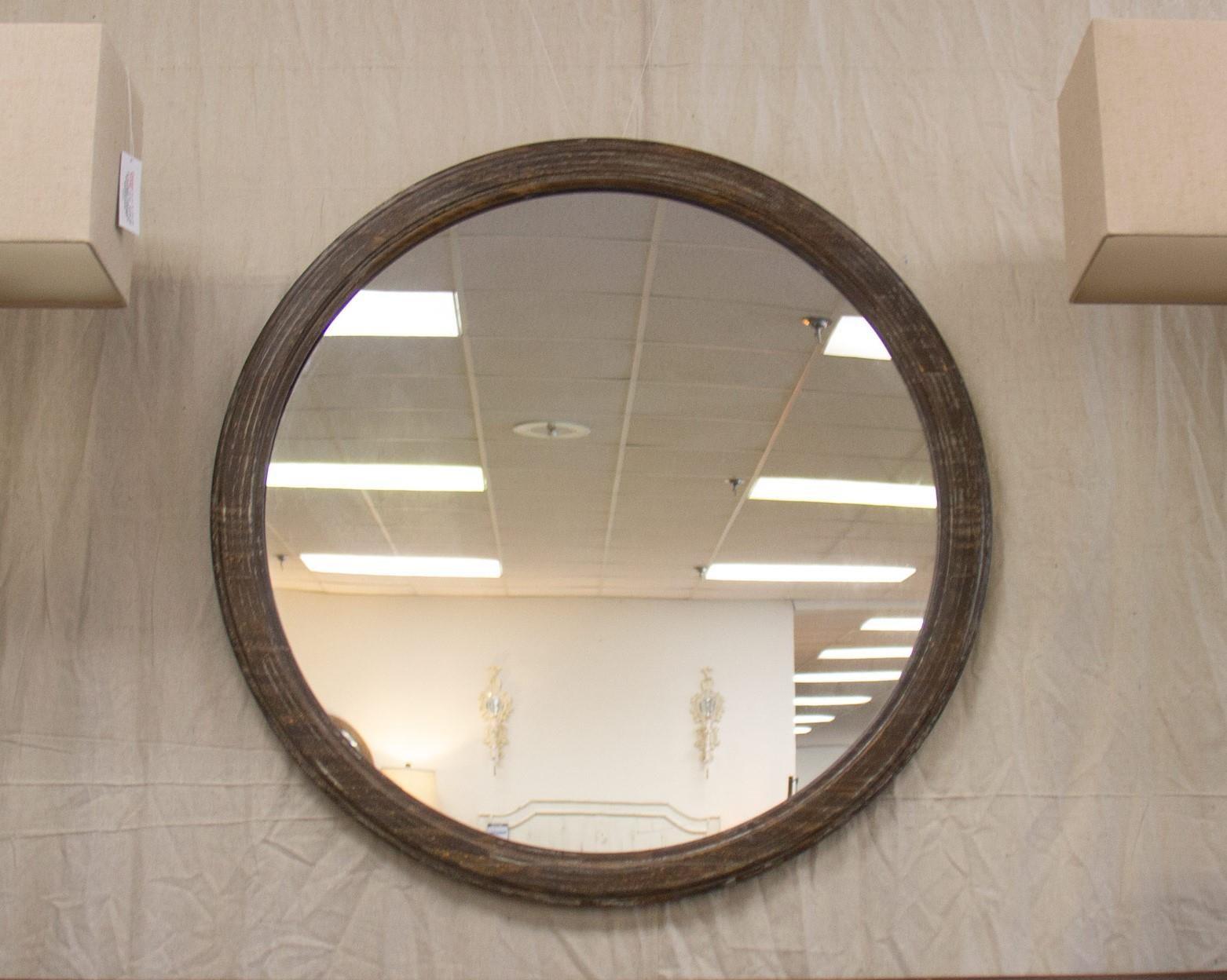 Barnwood Round Mirror