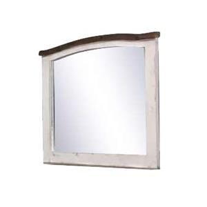 Vintage Mesh Barnwood Mirror