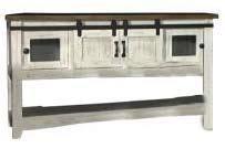 Vintage Barnwood Sofa Table