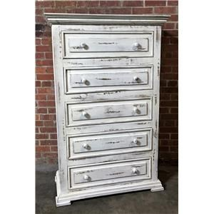 Vintage Chalet Nero White Chest