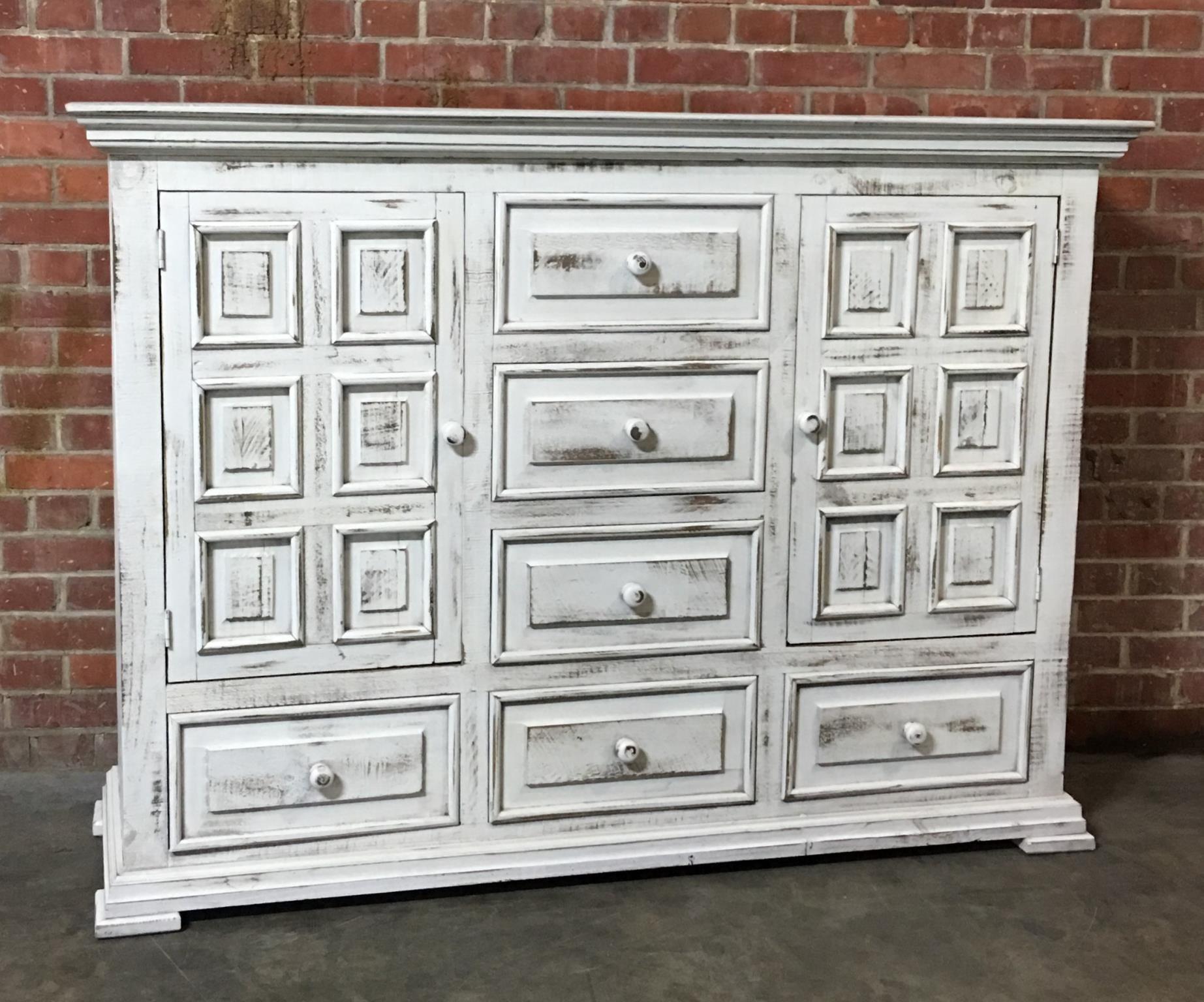 Nero White Dresser