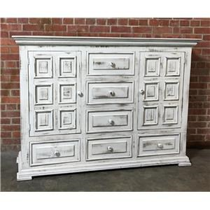 Vintage Chalet Nero White Dresser