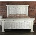 Vintage Chalet King Nero White Bed - Item Number: VINTA-GRP-MIC37-KINGBED
