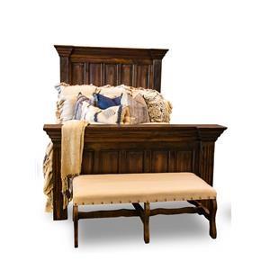 Vintage Claudia King Bed