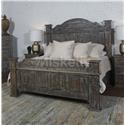 Vintage TITAN King Poster Bed - Item Number: MIC-605-KHBBW+KFB+KSR