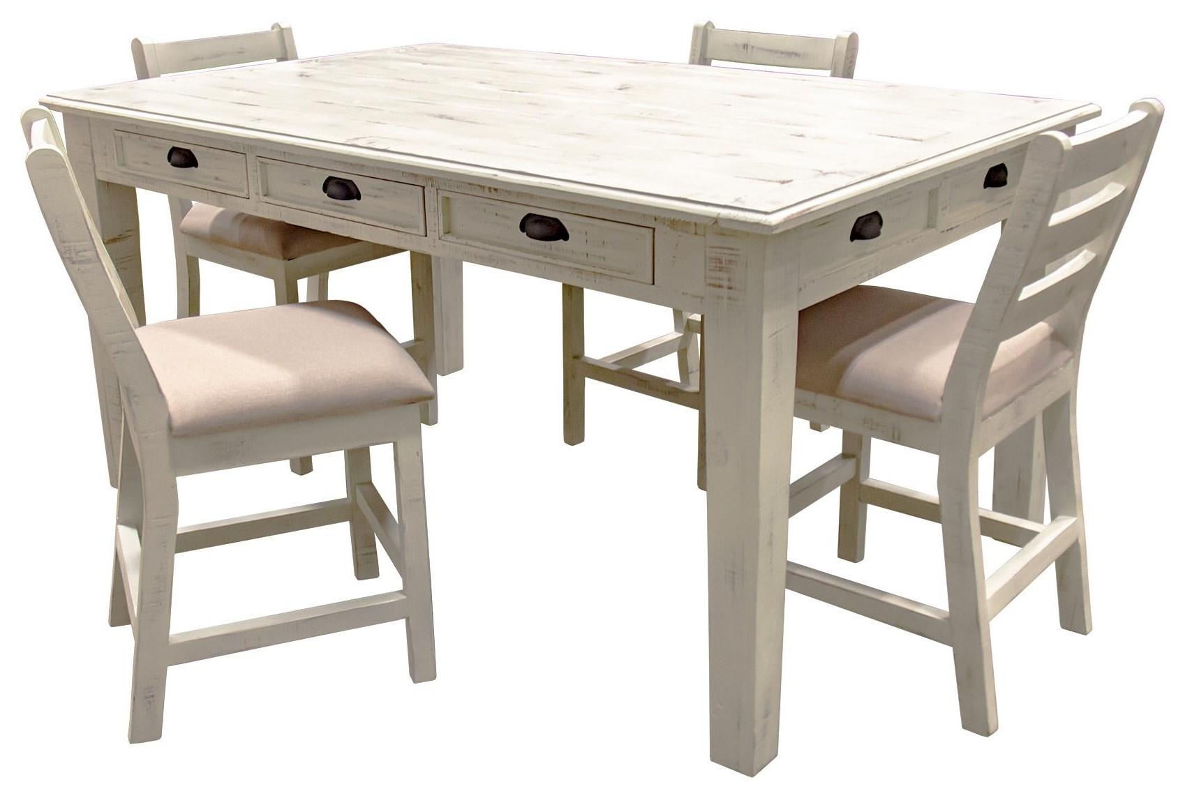 Table & 4 Barstools