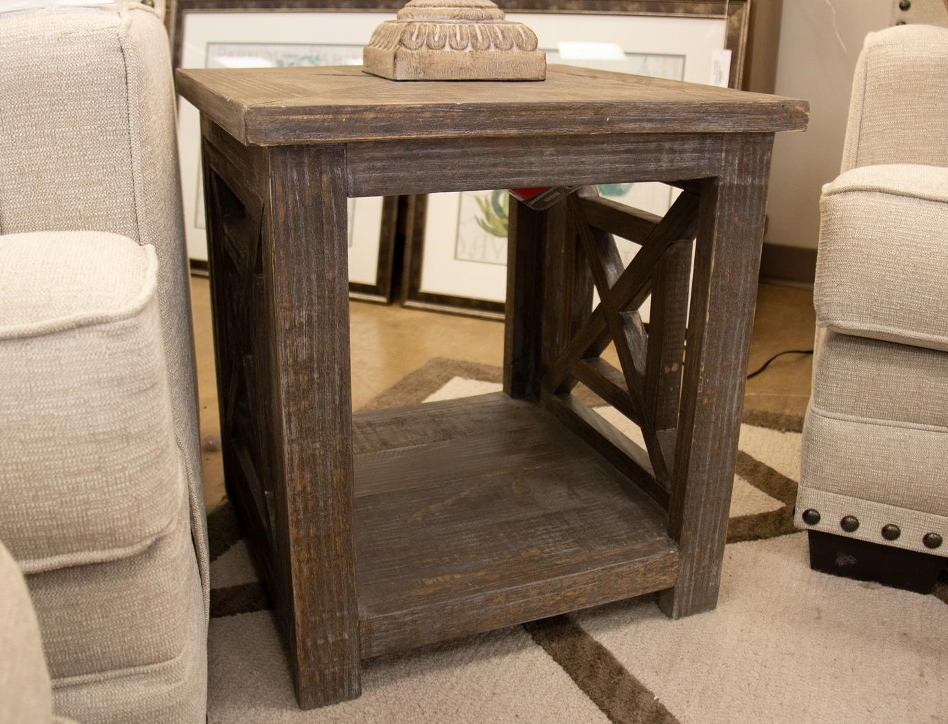 X Squared End Table
