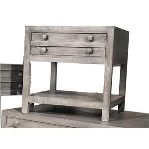 Toluca Barnwood End Table