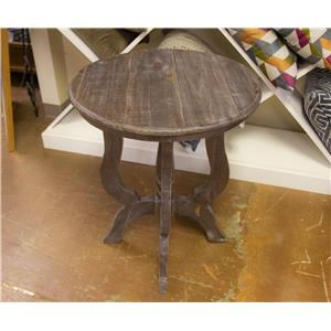 Tiffany Accent Table in Ash