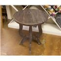Vintage Occasional Tables Tiffany Accent Table in Ash - Item Number: F-MIC681-LAT-ASHE